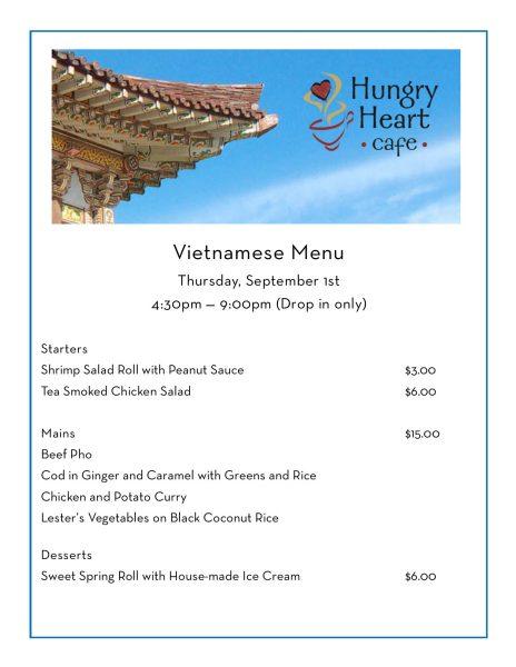 VietnameseThursdayMenupub